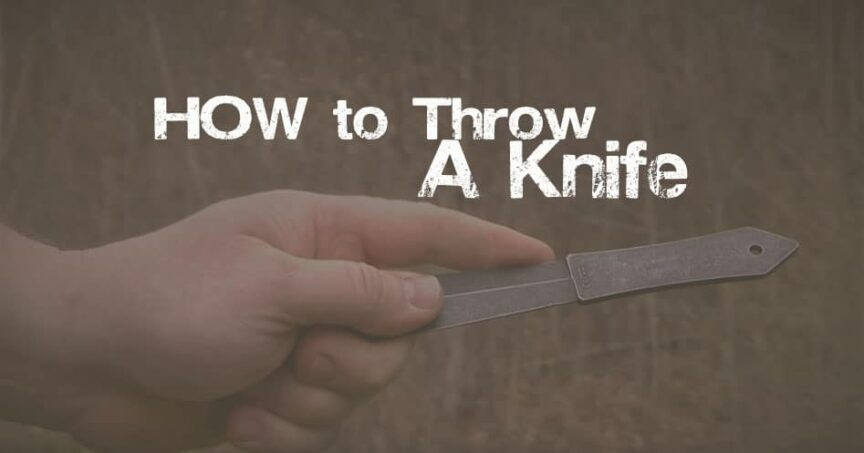 how to throw knife
