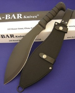 Kabar machete with box