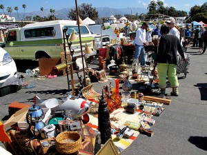 photo of a flea market