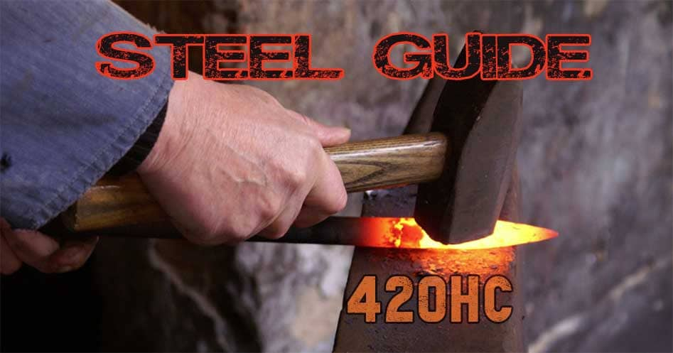 420HC knife steel guide