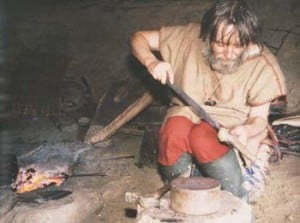 Some knife making tools have been around for centuries.