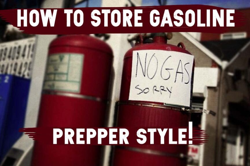 gasoline storage feature