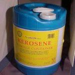 kerosene-smell
