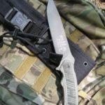 buck hood punk survival knife