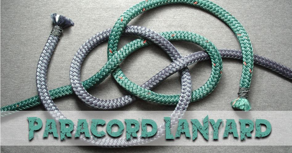 How to Make a Knife Lanyard or Utility Fob from Paracord