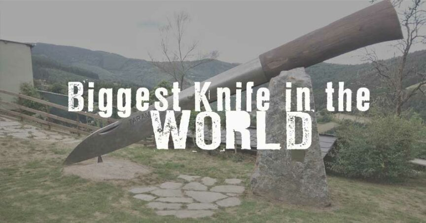 biggest knife in world