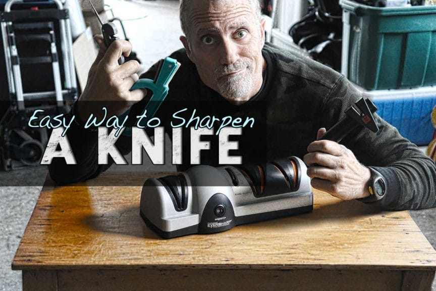 Presto 8810 knife sharpener