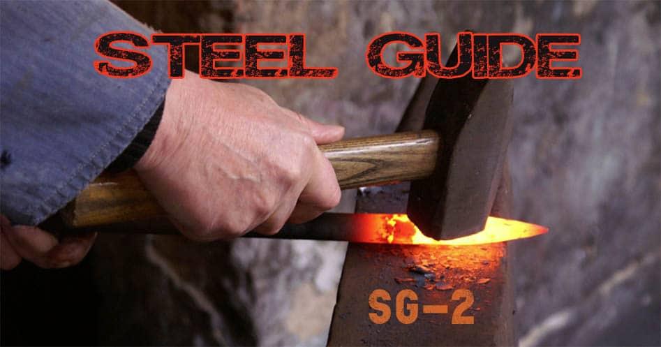 Sg2 steel knives