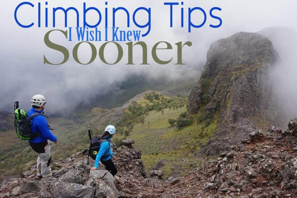 22 Climbing Tips I Wish I Knew Sooner!