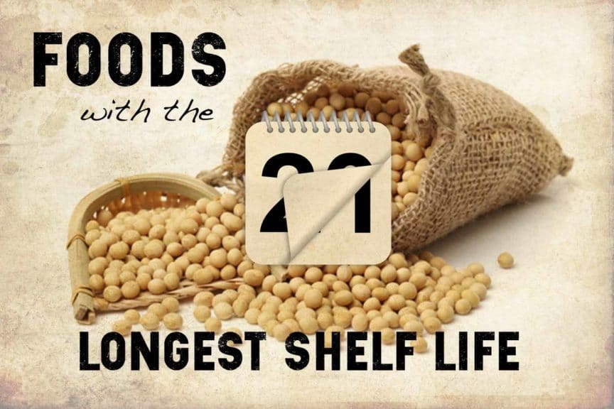 longest shelf life foods