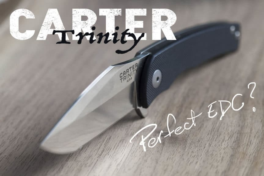 carter trinity knife