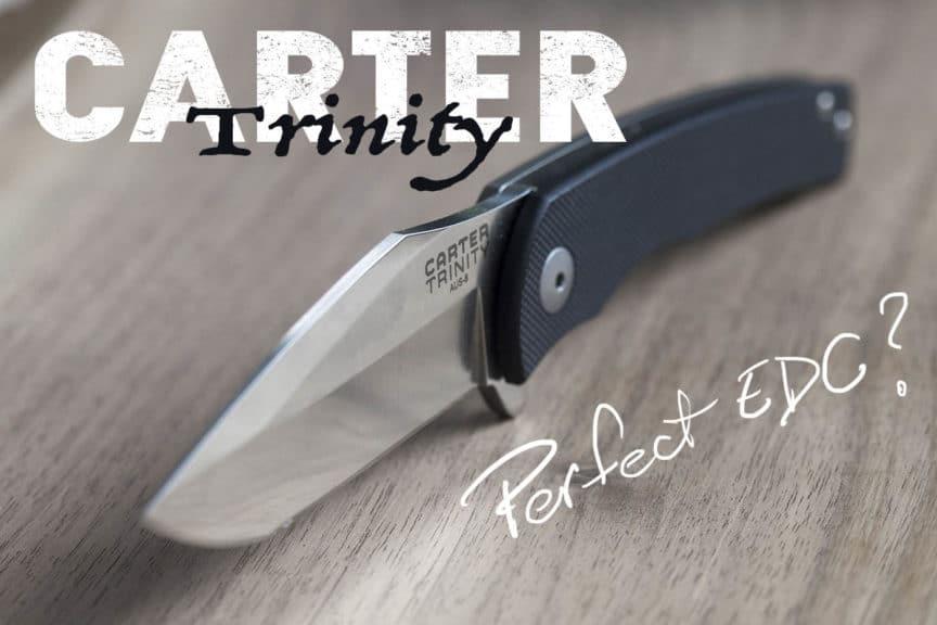 carter trinity knife