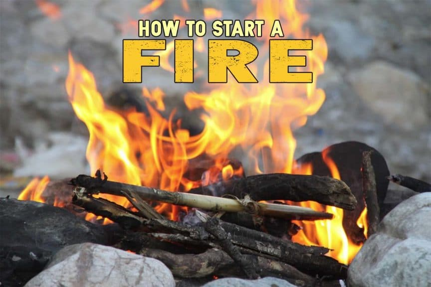 how to start a fire feature