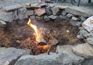 tinder - start a fire