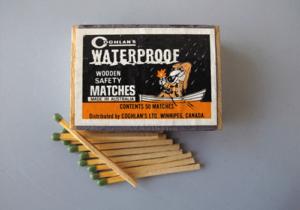 matches - start a fire
