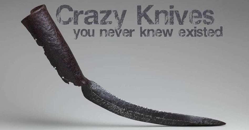 crazy knives