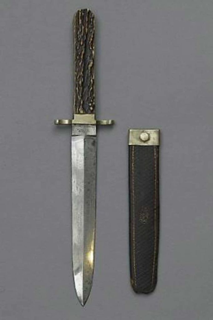 john wilkes booth knife