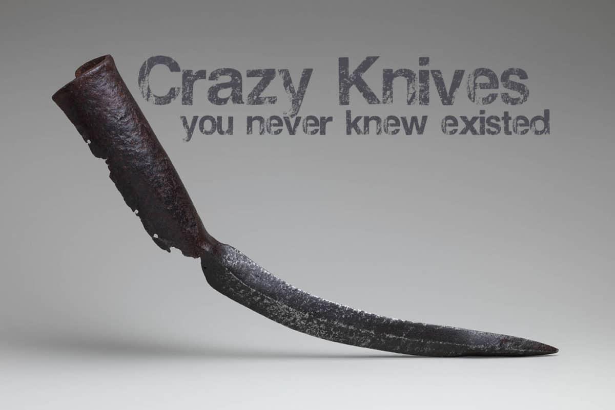 weird knives