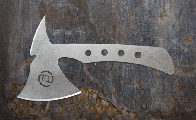 Southern Grind throwing ax