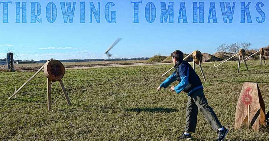 tomahawk throwing