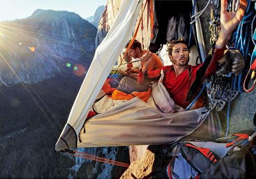 cliffside tent