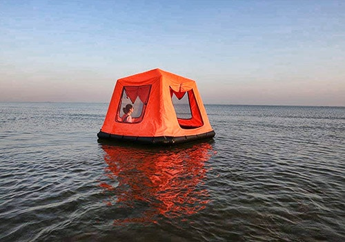 floating tent for camping