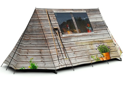 unique tent ideas