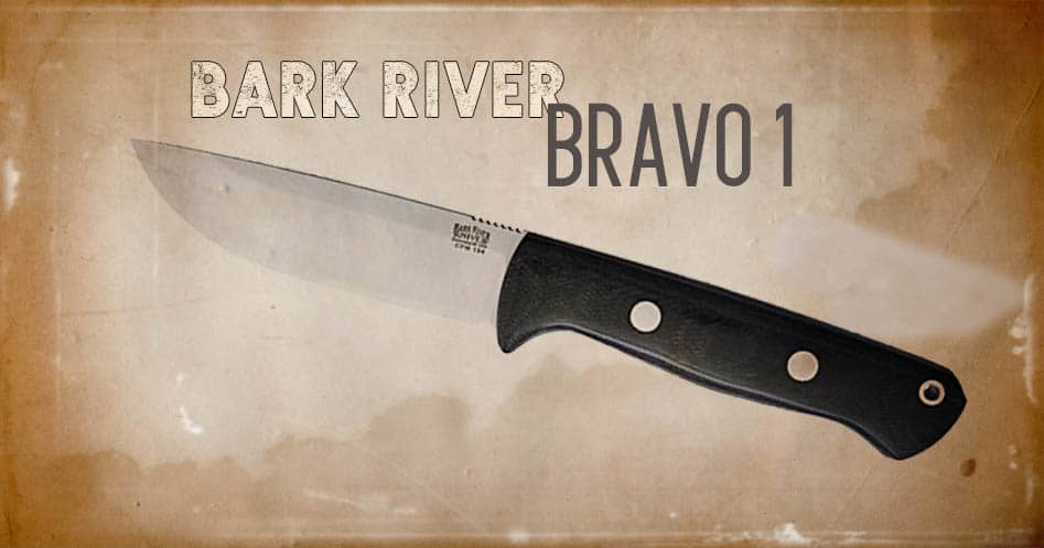 Bark River knife
