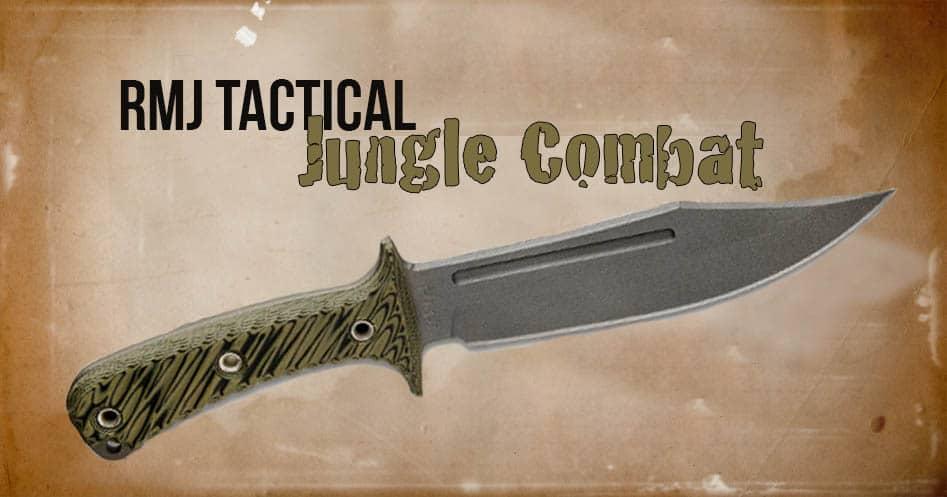 RMJ Tactical Jungle Combat Knife