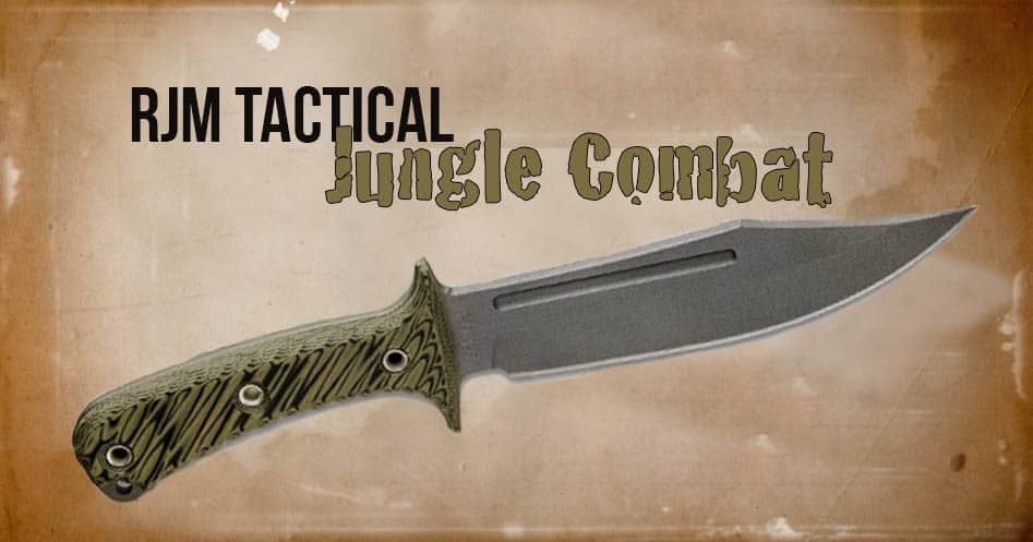 RMJ Tactical Jungle Combat Knife