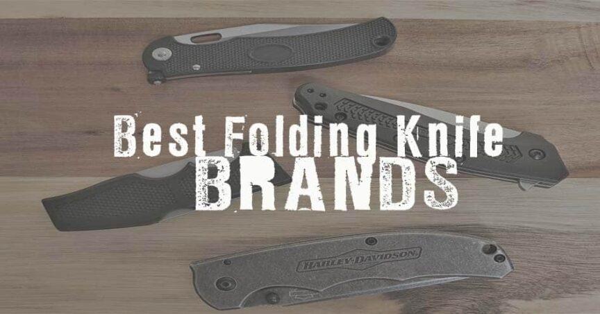 best folding knife brands