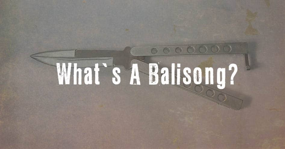 What Is A Balisong Knife Up
