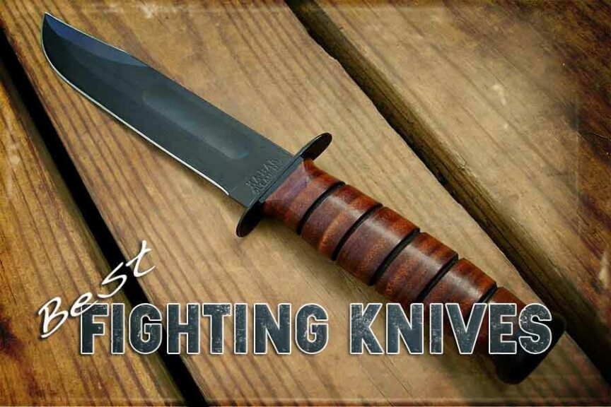 fighing knives