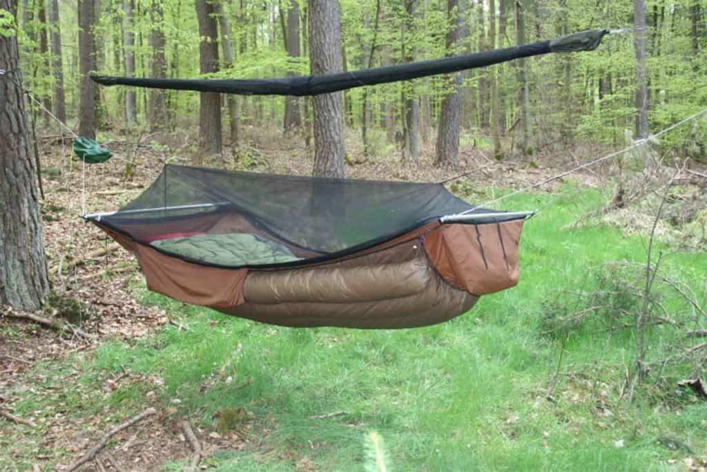 hammock with bug net