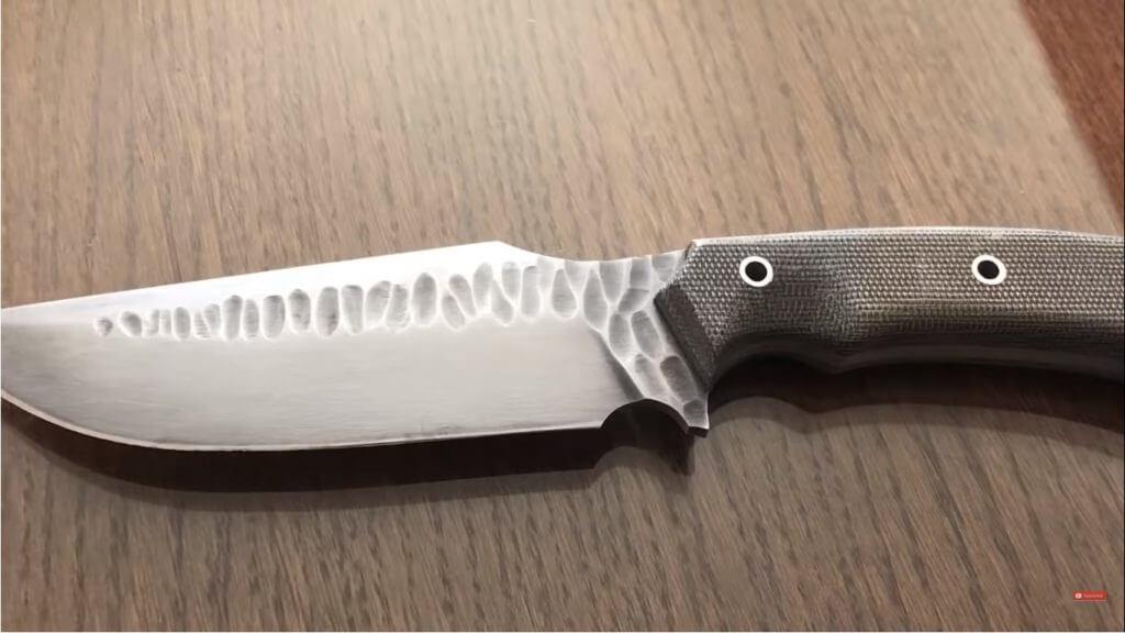 finished knife