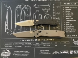 Tanto Bailout and (modified) Clip point 707