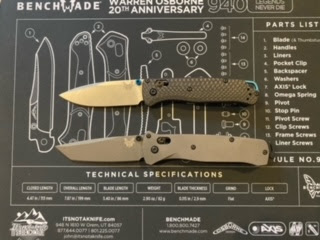 Bailout (Tanto) and Bugout (Drop point)