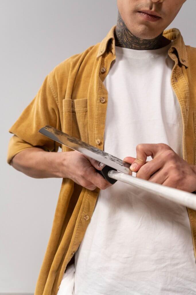Ease of Sharpening